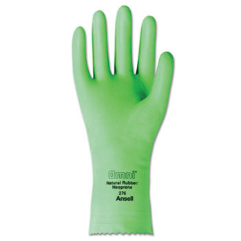 Omni Neoprene Latex Gloves - Size 7