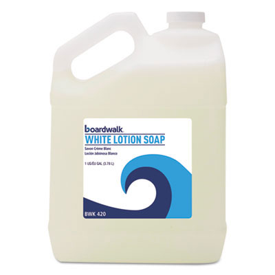 Mild Cleansing White Lotion Hand Soap - 1 Gallon