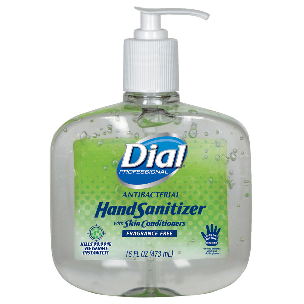 Antibacterial Instant Hand Sanitizer - 16 oz. Pump Bottle