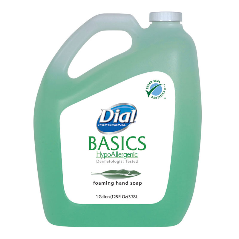 Dial Basics Foaming Hand Soap - 1 Gallon