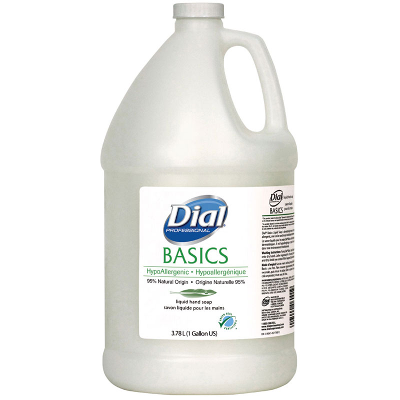 Basics Hypoallergenic Liquid Hand Soap - 1 Gallon Bottle