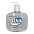 Dial 80784 Sensitive Skin Antimicrobial Liquid Hand Soap (12) 16oz Pump Bottles DIA80784