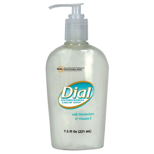 Dial Antimicrobial Soap w/ Moisturizers and Vitamin E