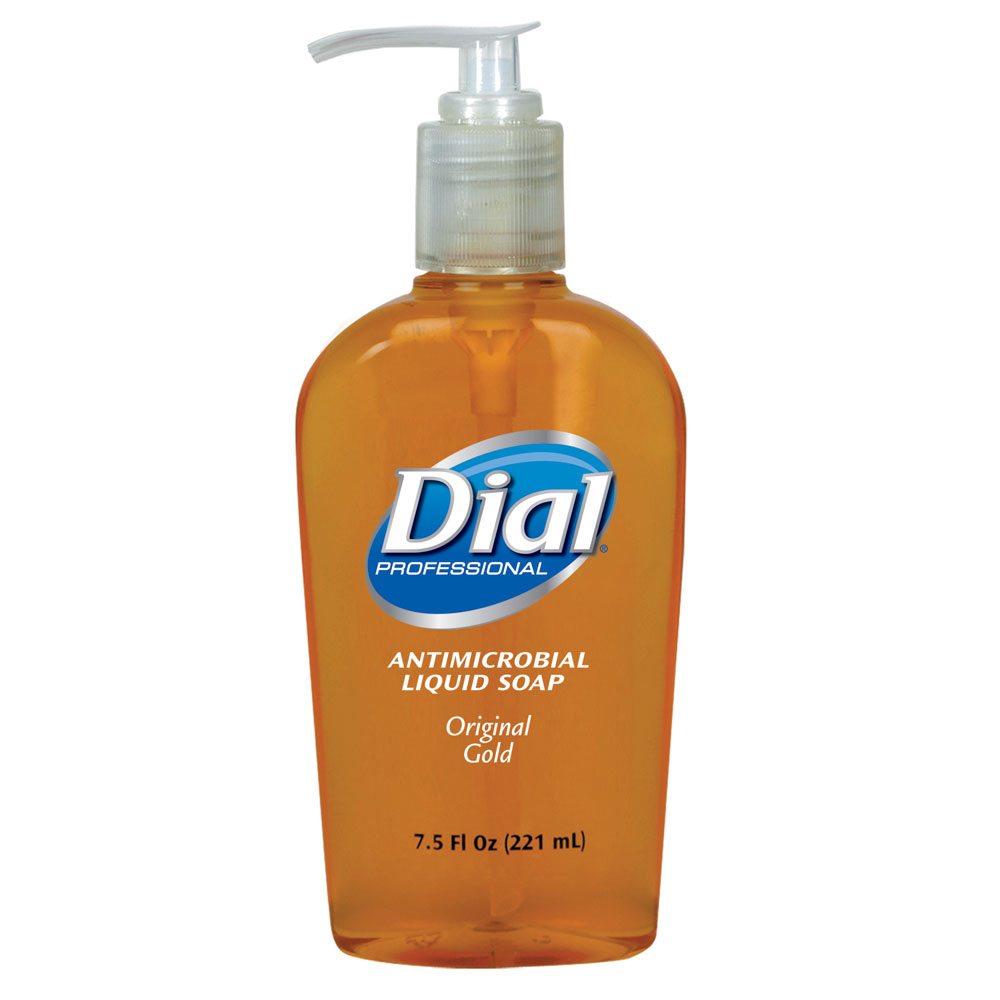 Dial Antimicrobial Liquid Hand Soap - 7.5 oz. Pump Bottle