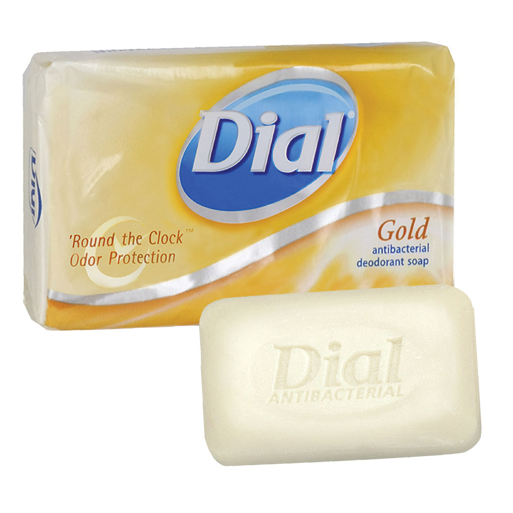 Dial Antibacterial Deodorant Bar Hand Soap - Gold