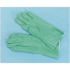 Galaxy Nitrile Flock-Lined Gloves - Medium GLX183M