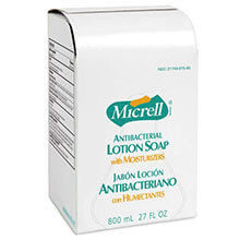 GOJO MICRELL Antibacterial Lotion Soap - 800-ml Bags