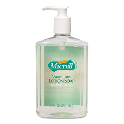 MICRELL Antibacterial Lotion Soap - 8 oz. Pump Bottles