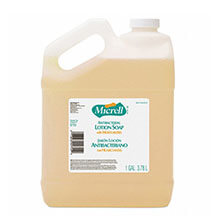 Micrell Antibacterial Lotion Soap - (4) 1 Gallon Bottles