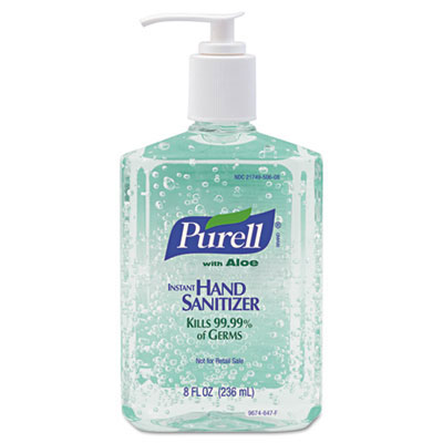 Purell Advanced Instant Hand Sanitizer Aloe Gel