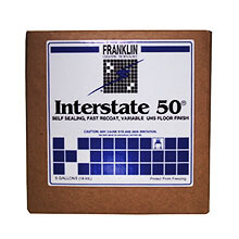 Franklin Interstate 50 Floor Finish - 5 Gallon Cube