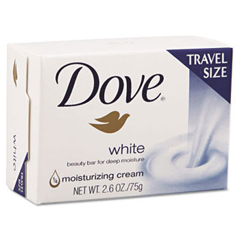 White Travel Size Bar Soap W Moisturizing Lotion Unoclean