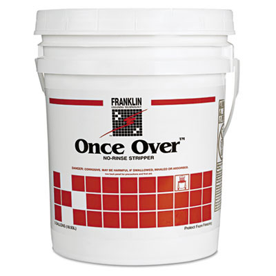 Once Over No-Rinse Floor Stripper - 5 Gallon Pail