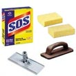 Commercial Sponges, Scrubbing Pads, Abrasives & Scouring Pads - Janitorial/Maintenance Supplies