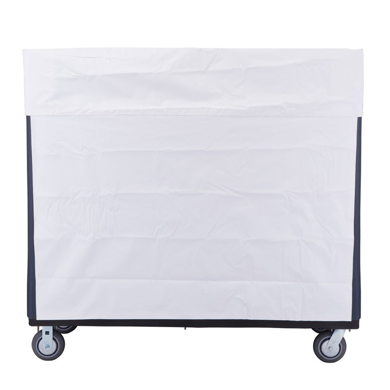 R&B Wire Heavy-Duty Bulk Transport & Turnabout Poly Truck Vinyl Cover - White