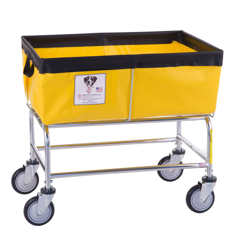 Elevated Basket Truck W Vinyl Nylon Liner 3 Bushel