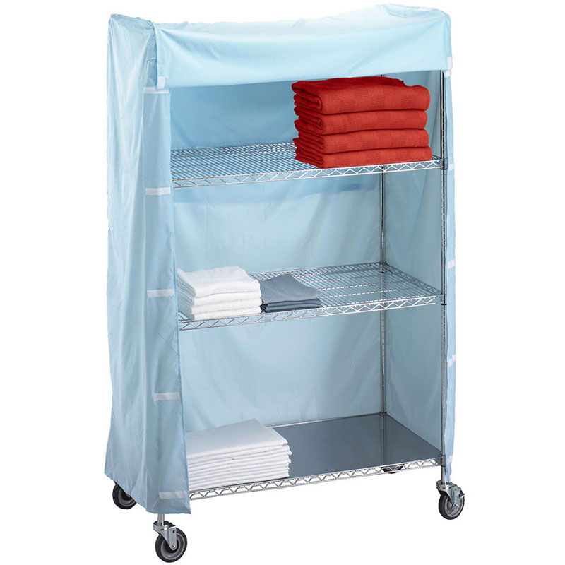 R&B Wire [246072C] Metal Frame Linen Cart Nylon Cover - 24