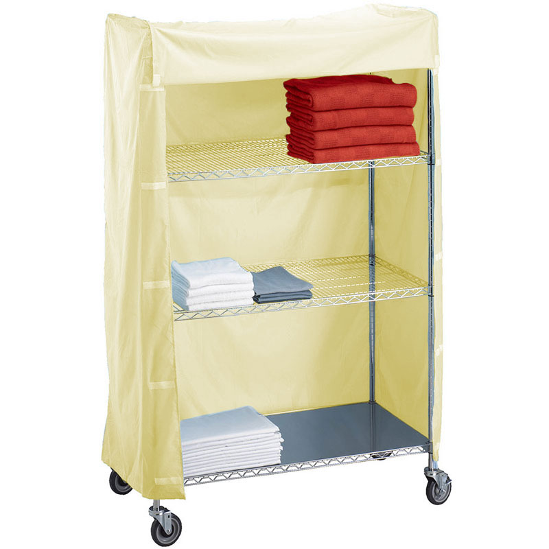 R&B Wire [244872C] Metal Frame Linen Cart Nylon Cover - 24