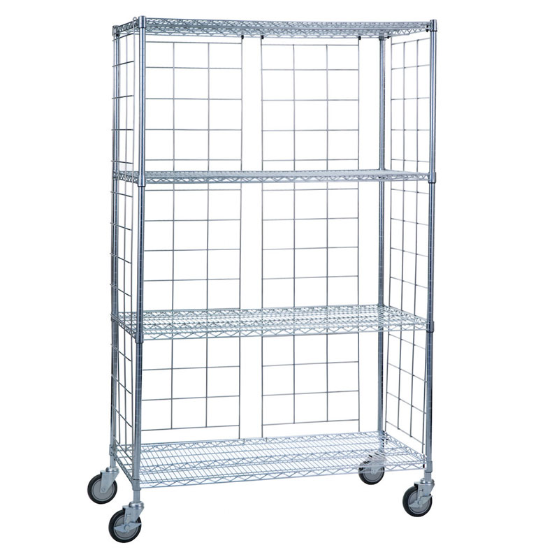 R&B Wire LC2448KIT Metal Linen Rack Enclosure Panels
