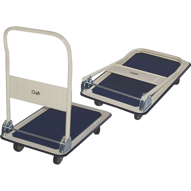 Milwaukee Hand Trucks [33886] Folding Handle Platform Cart - 600 lb. Capacity