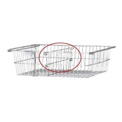 R&B Wire [1009] Resident Item Cart Basket Divider