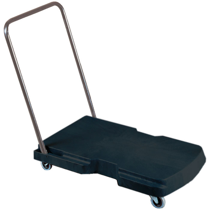 Triple Trolley Light-Duty Platform Truck - 250 lb. Capacity