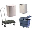 Commercial Storage & Material Handling Supplies, Transport Trucks, Bins, Bulk Trucks & Platform Trucks - Janitorial/Maintenance Supplies