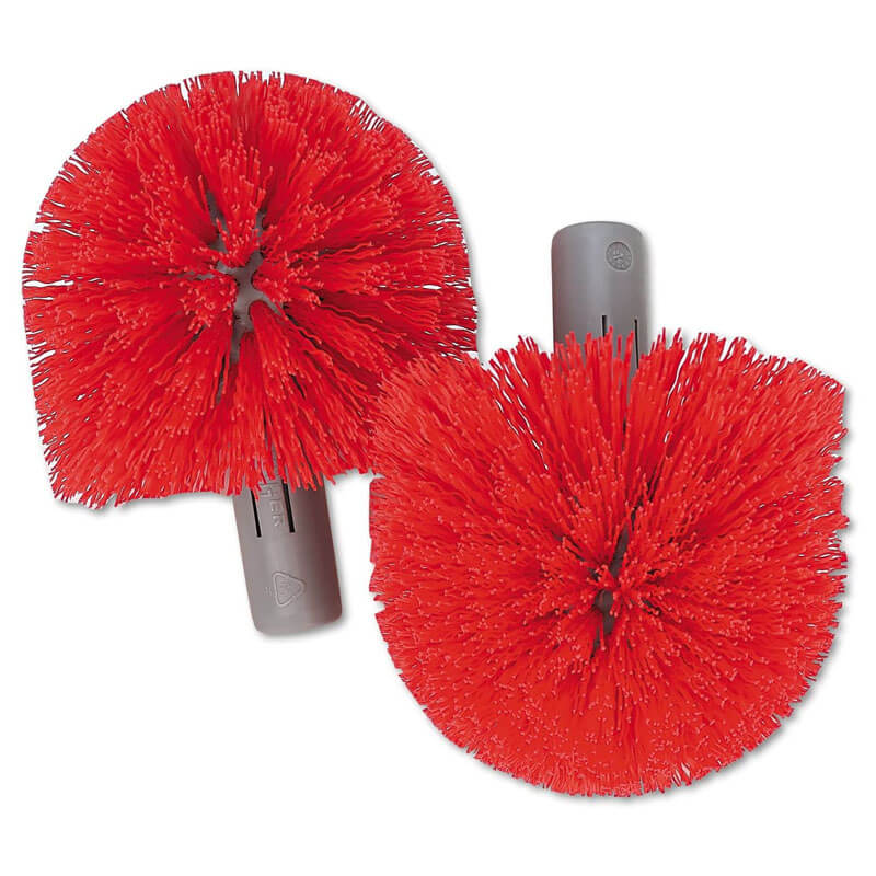 Replacement Heads for Ergo Toilet Bowl Brush System