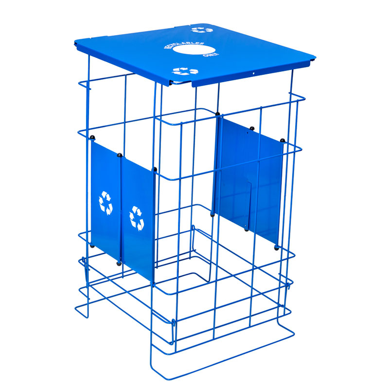 Clean Grid EXL Collapsible Recycling Receptacle - 60 Gallon