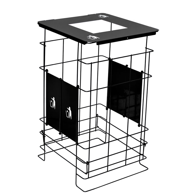 Clean Grid EXL Collapsible Receptacle - 60 Gallon