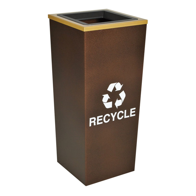 Metro Collection Recycling Receptacle