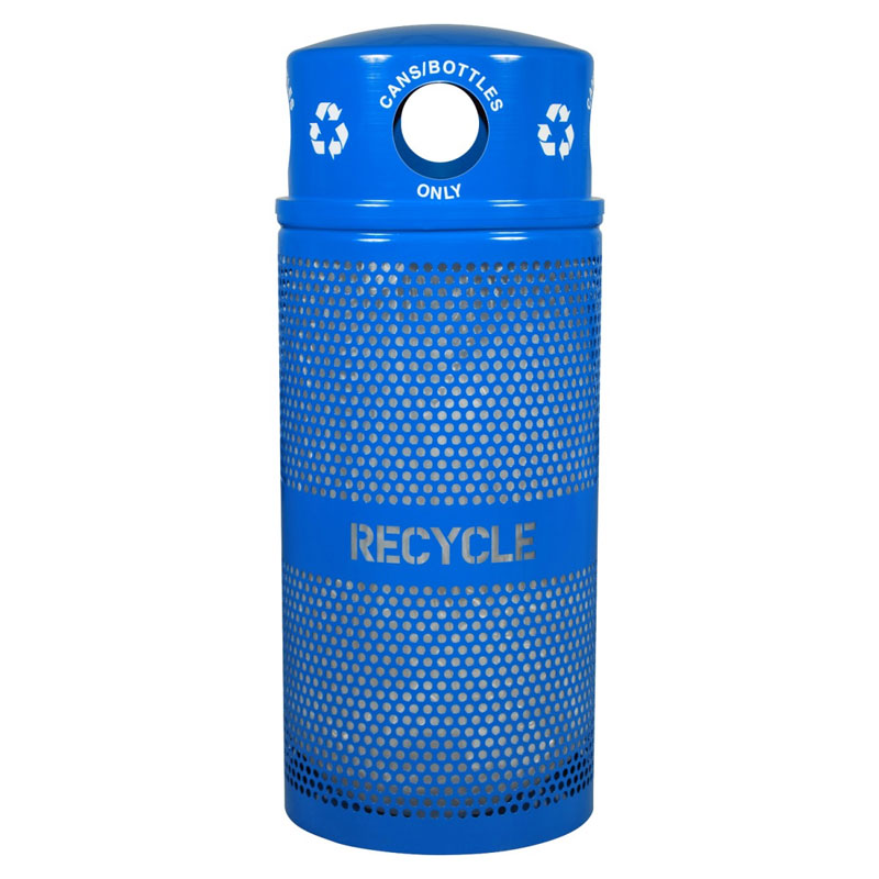Landscape Series Outdoor Cans/Bottles Recycling Receptacle