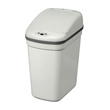 Nine Stars [DZT-20-1] Motion Sensor Activated Plastic Trash Can - Rectangle - Gray - 5.2 Gallon NST-DZ201GRAY