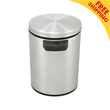 Nine Stars [DZT-5-1] Motion Sensor Activated Stainless Steel Trash Can - Round - 1.3 Gallon NST-DZT51
