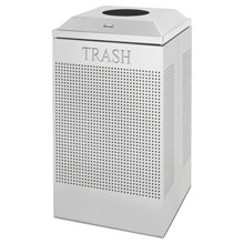 Silhouette Waste Receptacle - Square - 29 Gallon RCPDCR24TSM