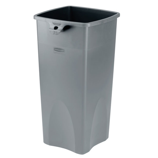 Rubbermaid Commercial Square Container - 19 Gallon - Gray