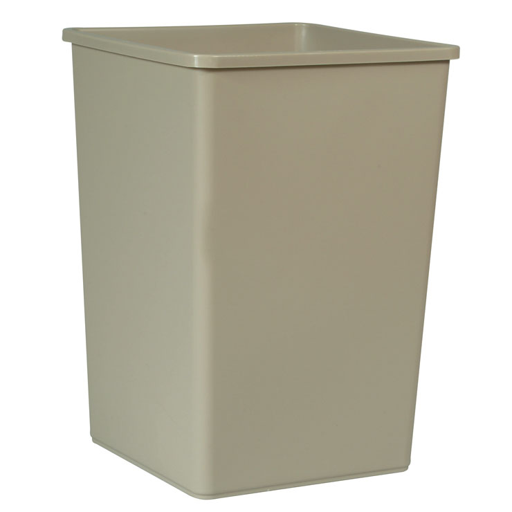 Commercial Square Container - 35 Gallon - Beige