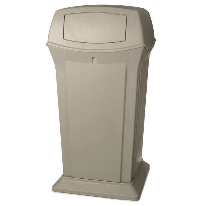 Ranger Fire-Safe Waste Container - Beige - 65 Gallon RCP9175BEI