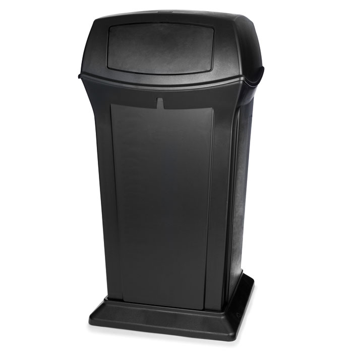 Ranger Fire-Safe Waste Container - Black - 65 Gallon RCP9175BLA