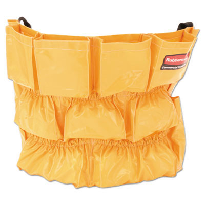 Brute Trash Can Cleaning Tools Caddy Bag - Yellow