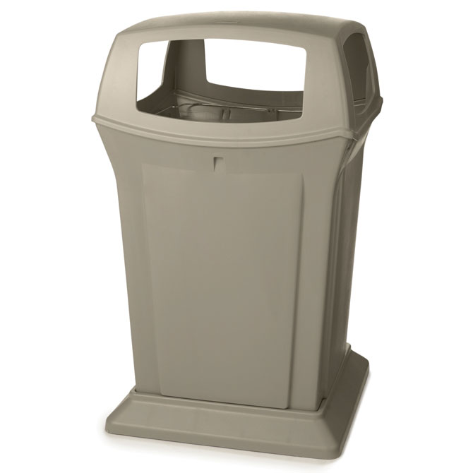 Ranger Fire-Safe Container - Beige - 45 Gallon