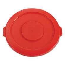 2631 Brute Round Trash Can Lid - 32 Gallon - Red