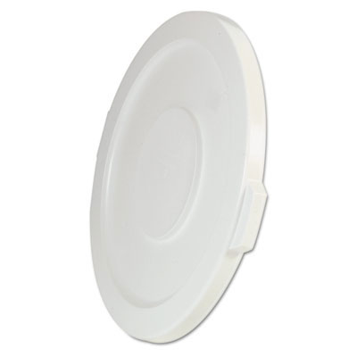 2631 Brute Round Trash Can Lid - 32 Gallon - White