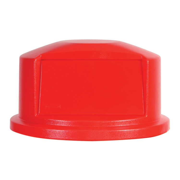 Round Brute Dome Top, Red - 22.69