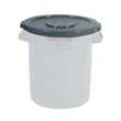 Rubbermaid [2609] Brute® Round Trash Can Lid - 10 Gallon - Gray
