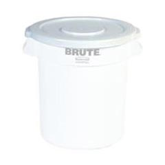 Rubbermaid [2609] Brute® Round Trash Can Lid - 10 Gallon - White