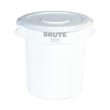 Rubbermaid [2631] Brute® Round Trash Can Lid - 32 Gallon - White