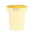 Rubbermaid [2631] Brute® Round Trash Can Lid - 32 Gallon - Yellow