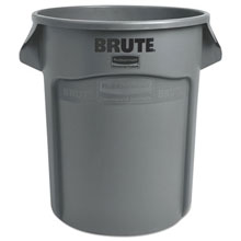 BRUTE Round Trash Can - Gray - 20 Gallon
