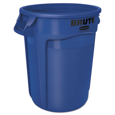 Brute Round Refuse Container - Blue - 32 Gallon RCP2632BLU